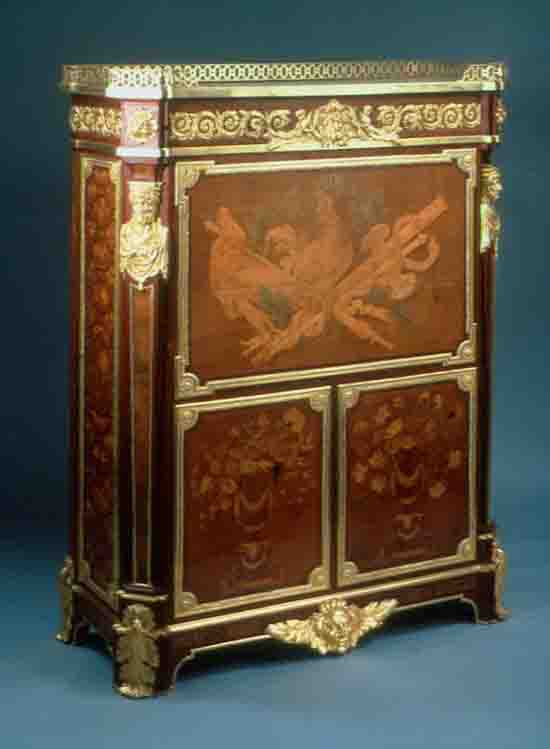 3  Drop Front Secretaire By Jean Henri Riesener For Marie Antoinette, C.1780